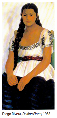 McNay Moments: THEN Diego Rivera's Delfina Flores By Tommie Ethington