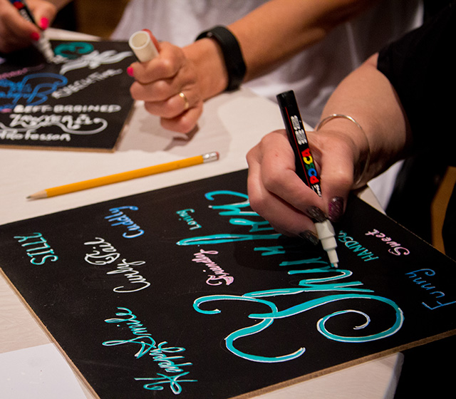 Workshop: Chalk Lettering