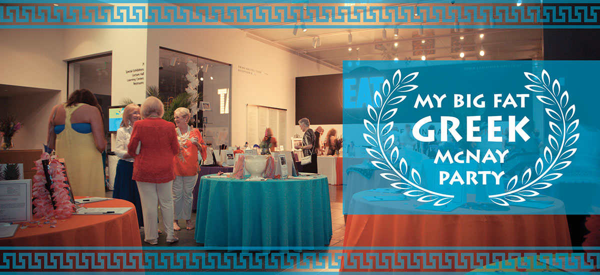 My Big Fat Greek McNay Party