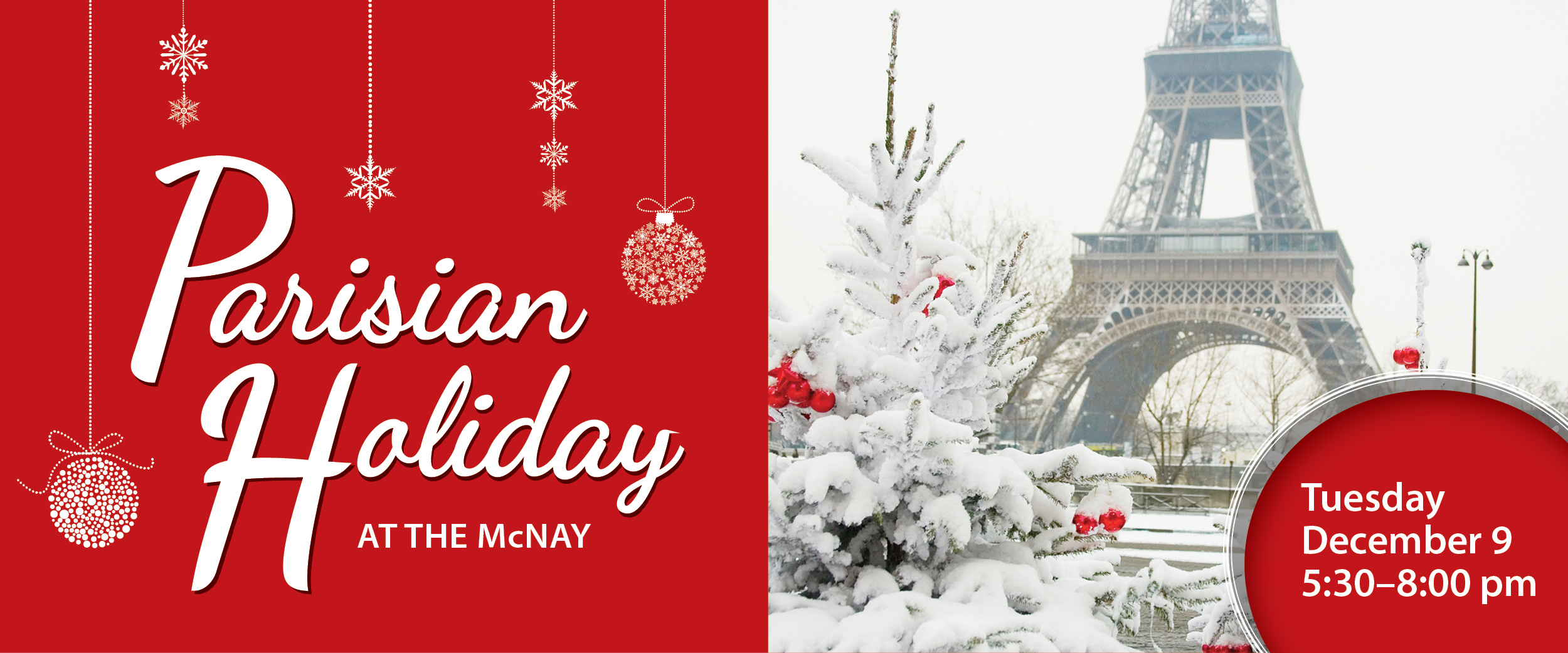 Parisian Holiday at the McNay