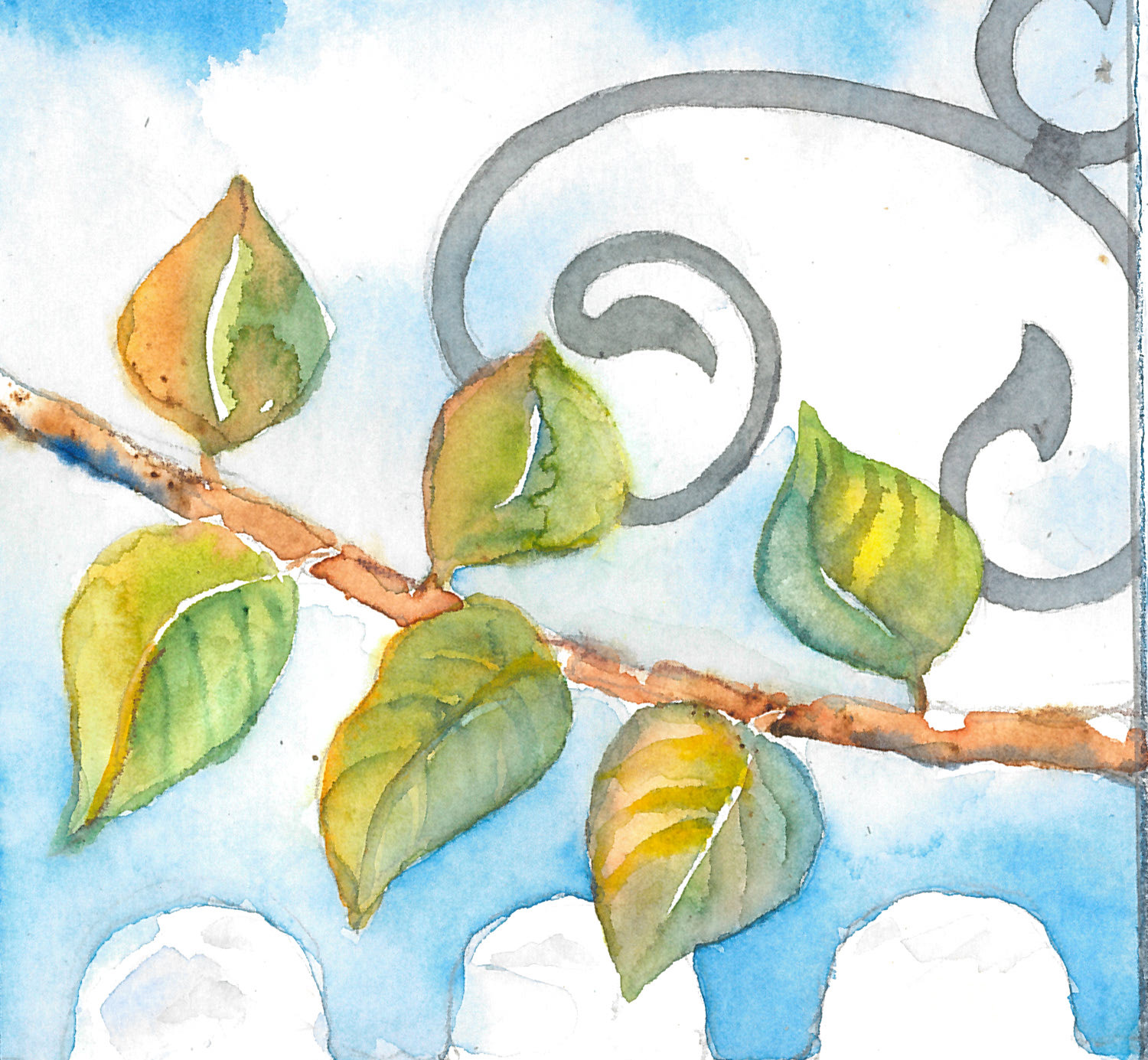 Workshop: Watercolor on the Patio
