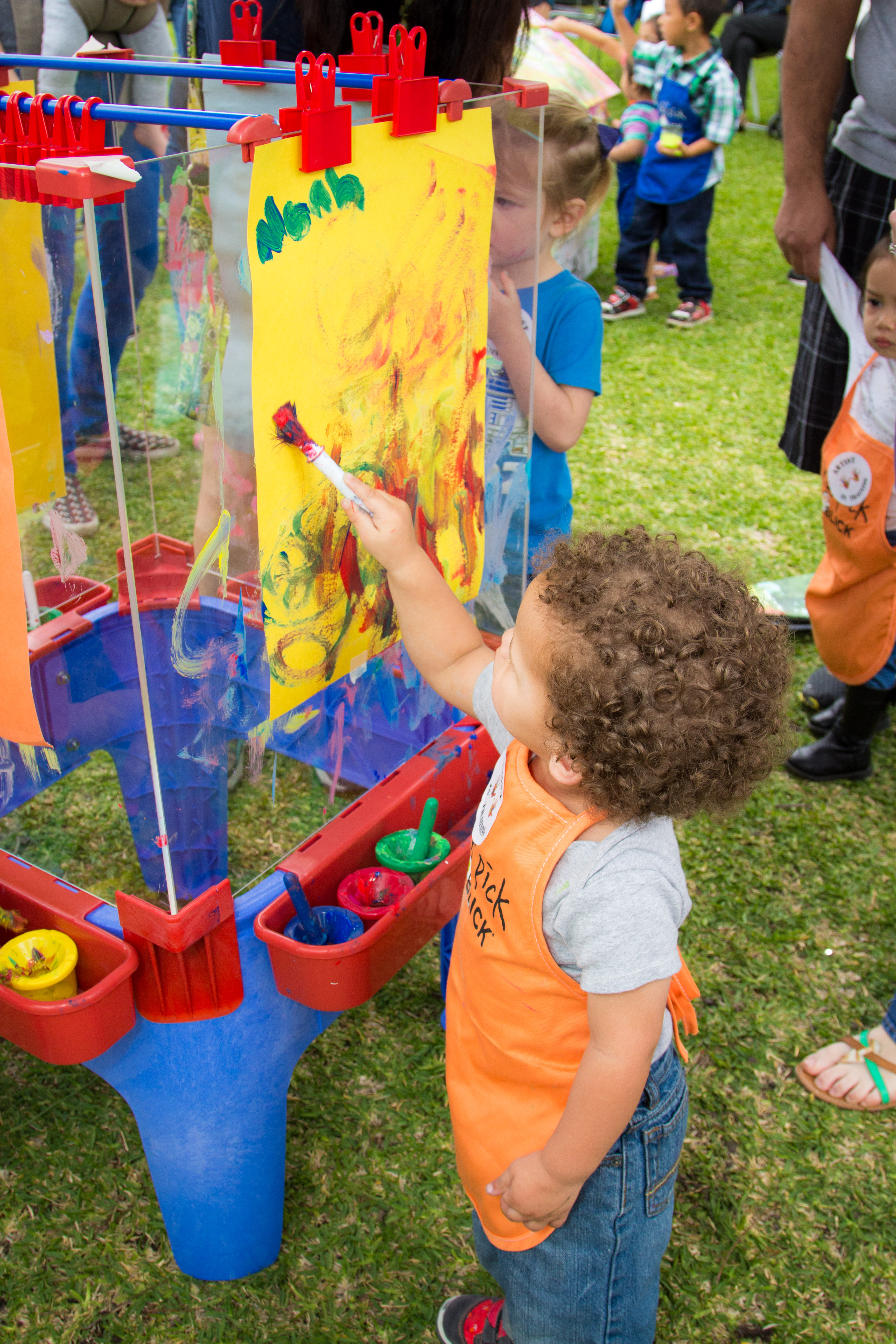 toddler art play paint party - Toddler Painting Games