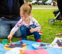 Toddler Art Play: Paint Party