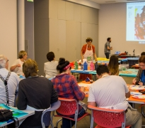 ArtFULL Wednesdays: Art-making for Adults: Painted Patterns