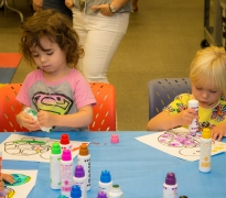 Toddler Art Play: Animals on Parade