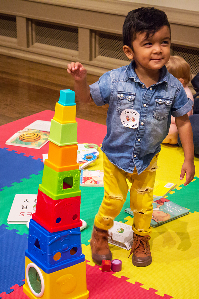 Toddler Art Play: Mi Ciudad/ My City