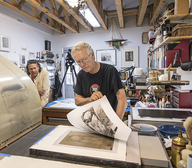 Studio Visit and Workshop: The Printed Picture