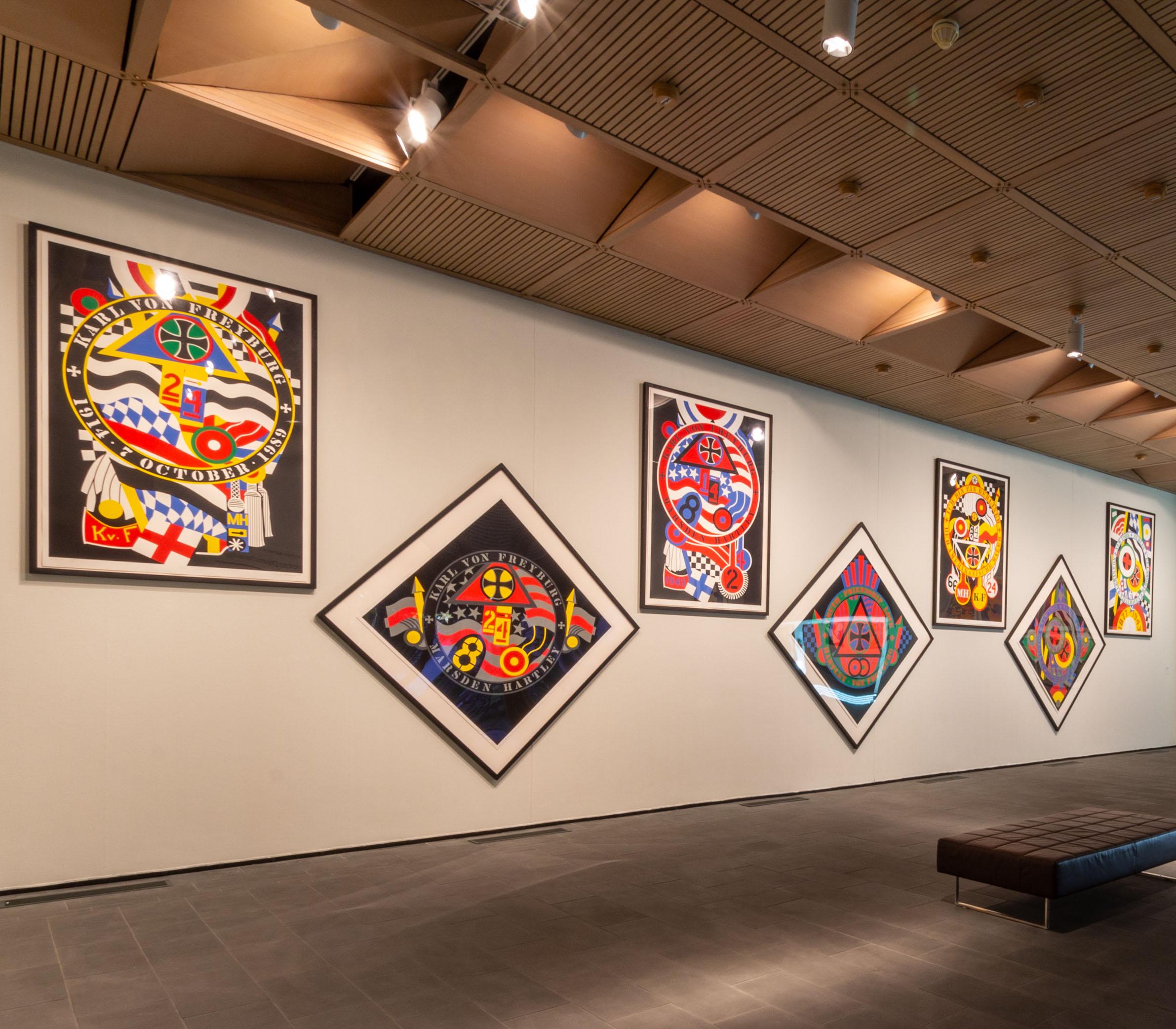 ArtFULL Wednesday: One-on-One: Robert Indiana, Hartley Elegies
