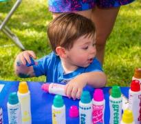 Toddler Art Play: Clowning Around
