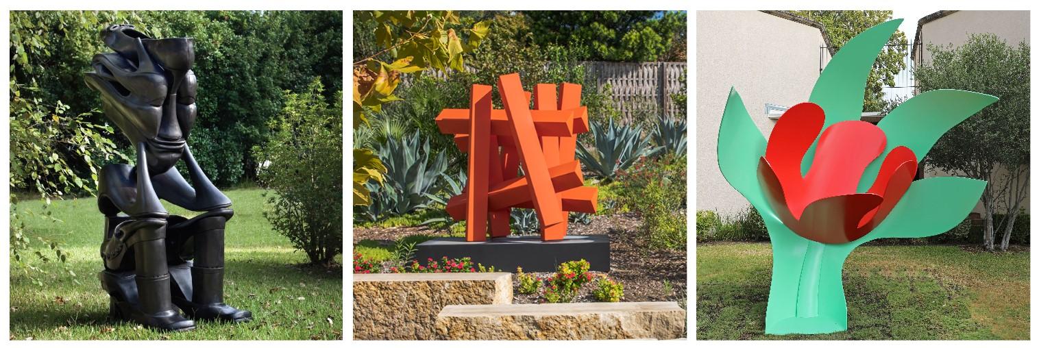 Our Sculpture Garden is Growing