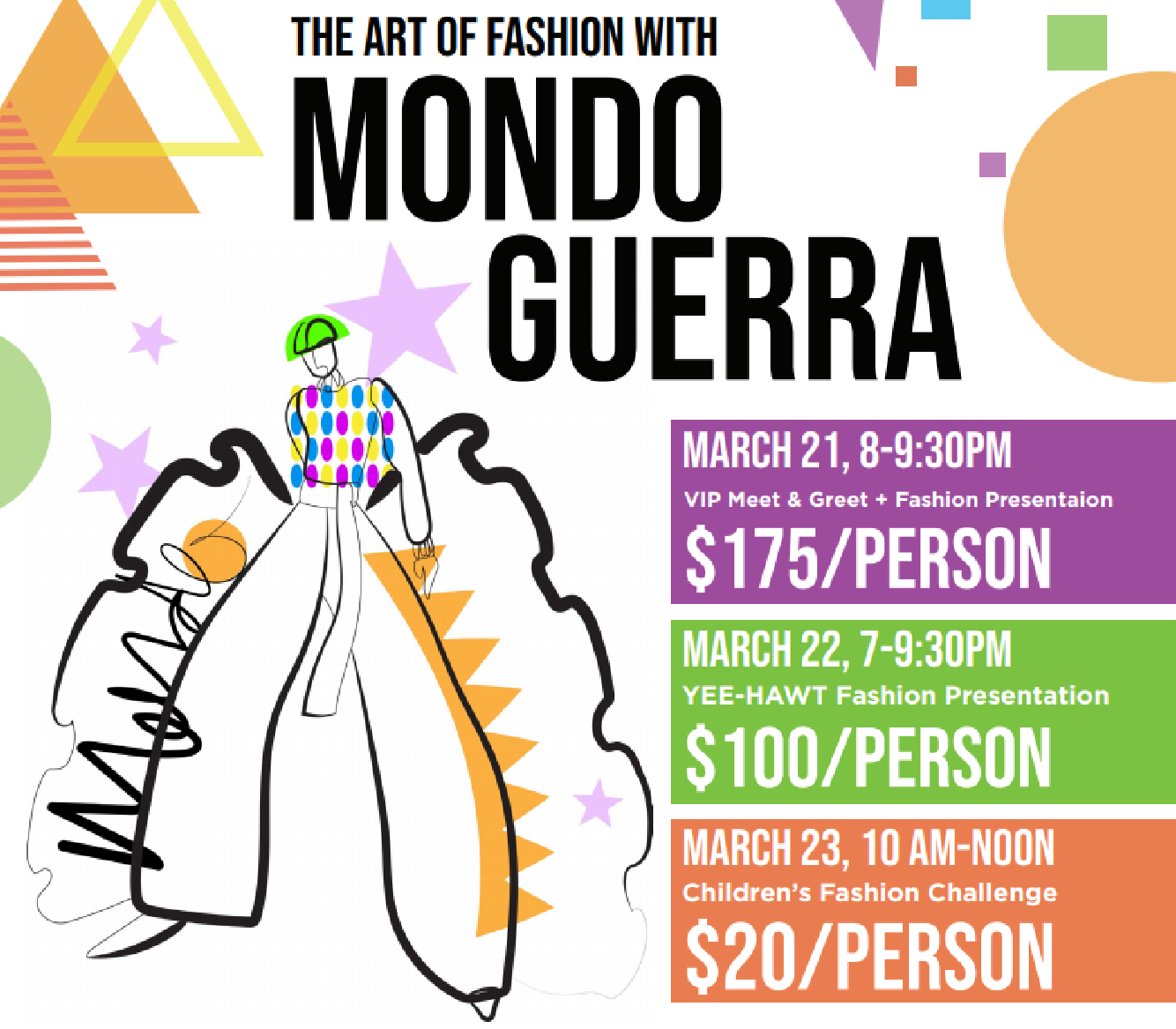 The Art of Fashion with Mondo Guerra: YEE-HAWT