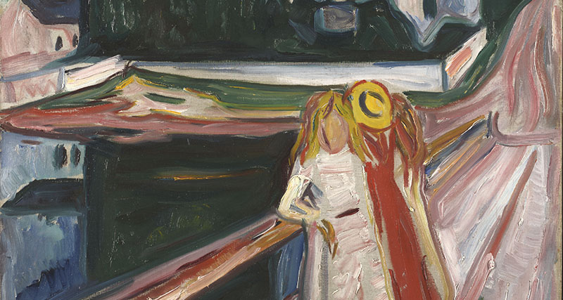 ​Munch at the McNay: Two Spring Presentations Featuring the Norwegian Modern Master