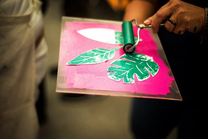 ArtFULL Wednesday: Art-making for Adults: Cut Paper Prints