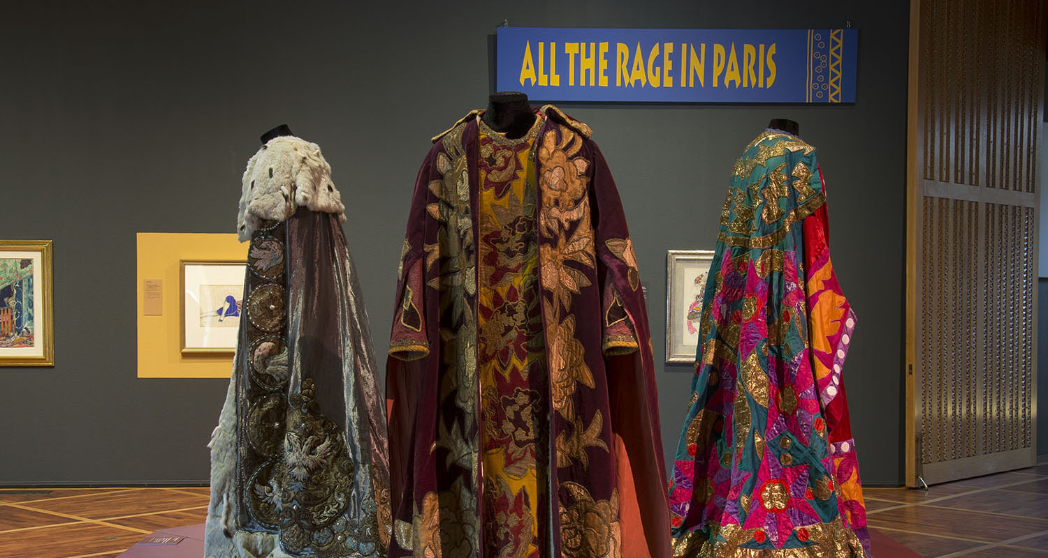 Curator's Corner: All the Rage in Paris: Diaghilev's Ballets Russes, 1909-1929