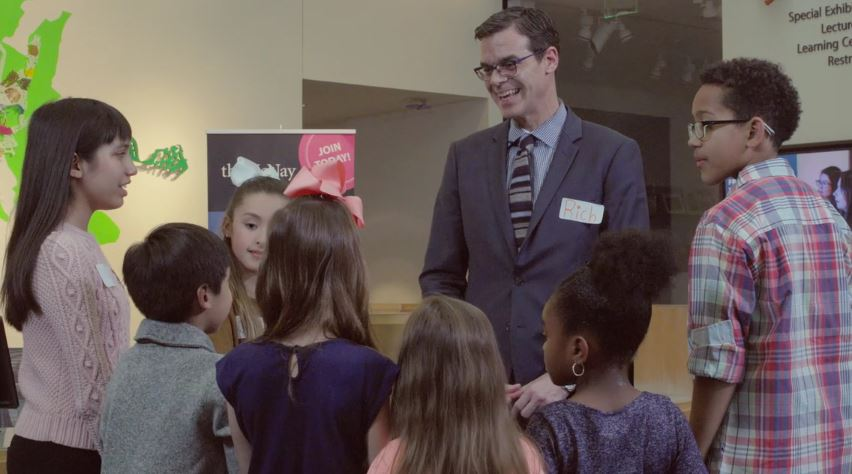 McNay Director Rich Aste Tours Monet to Matisse with Local Kids