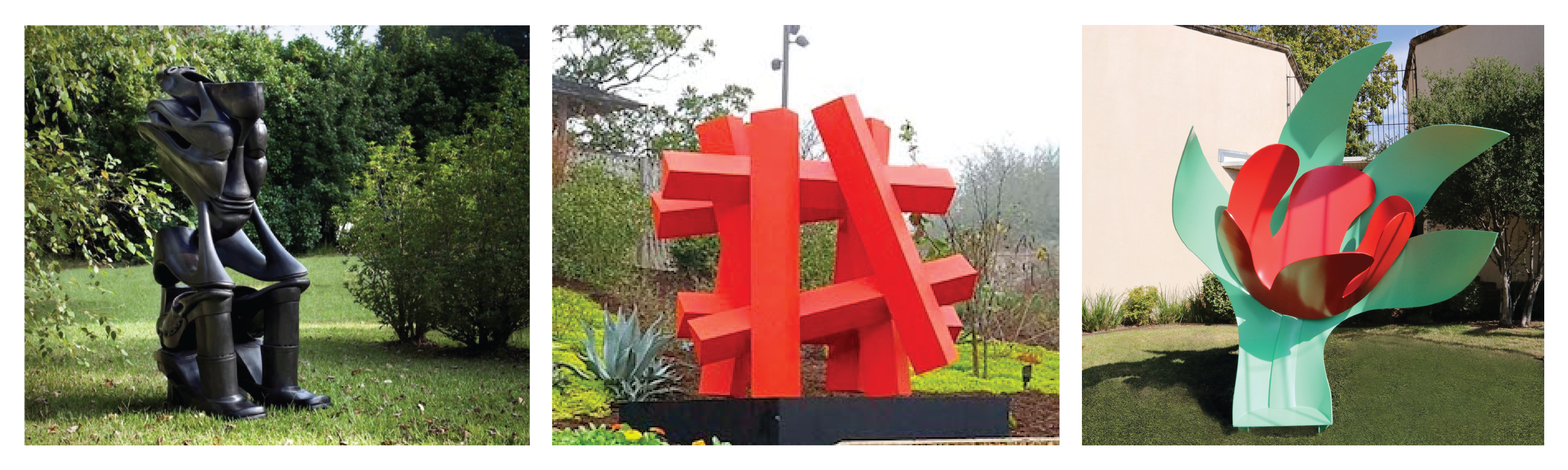 McNay Art Museum Acquires Three New Outdoor Sculptures For Its World-Renowned Permanent Collection