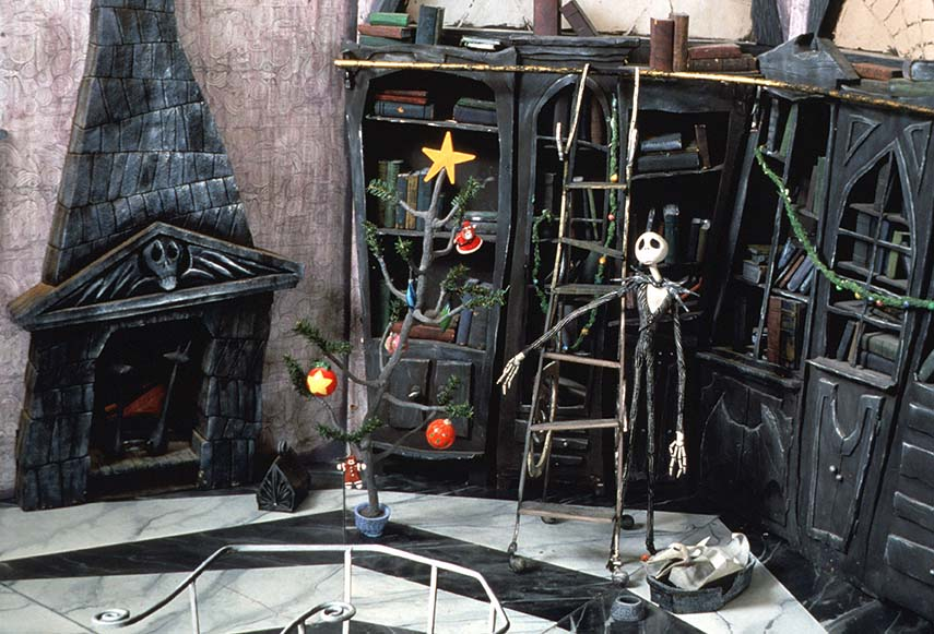 Tim Burton Nightmare Before Christmas Artwork.Behind The Screen Tim Burton S The Nightmare Before