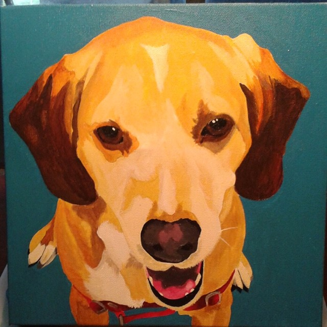 ArtFULL Wednesdays: Art-making for Adults: Pet Portraits