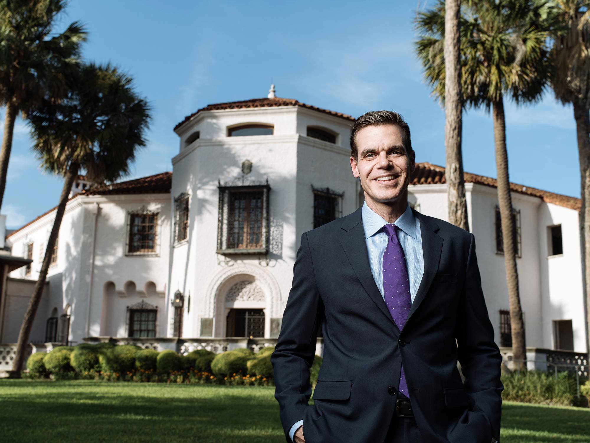Richard Aste is the Recipient of the Harvard Business School Club of San Antonio School