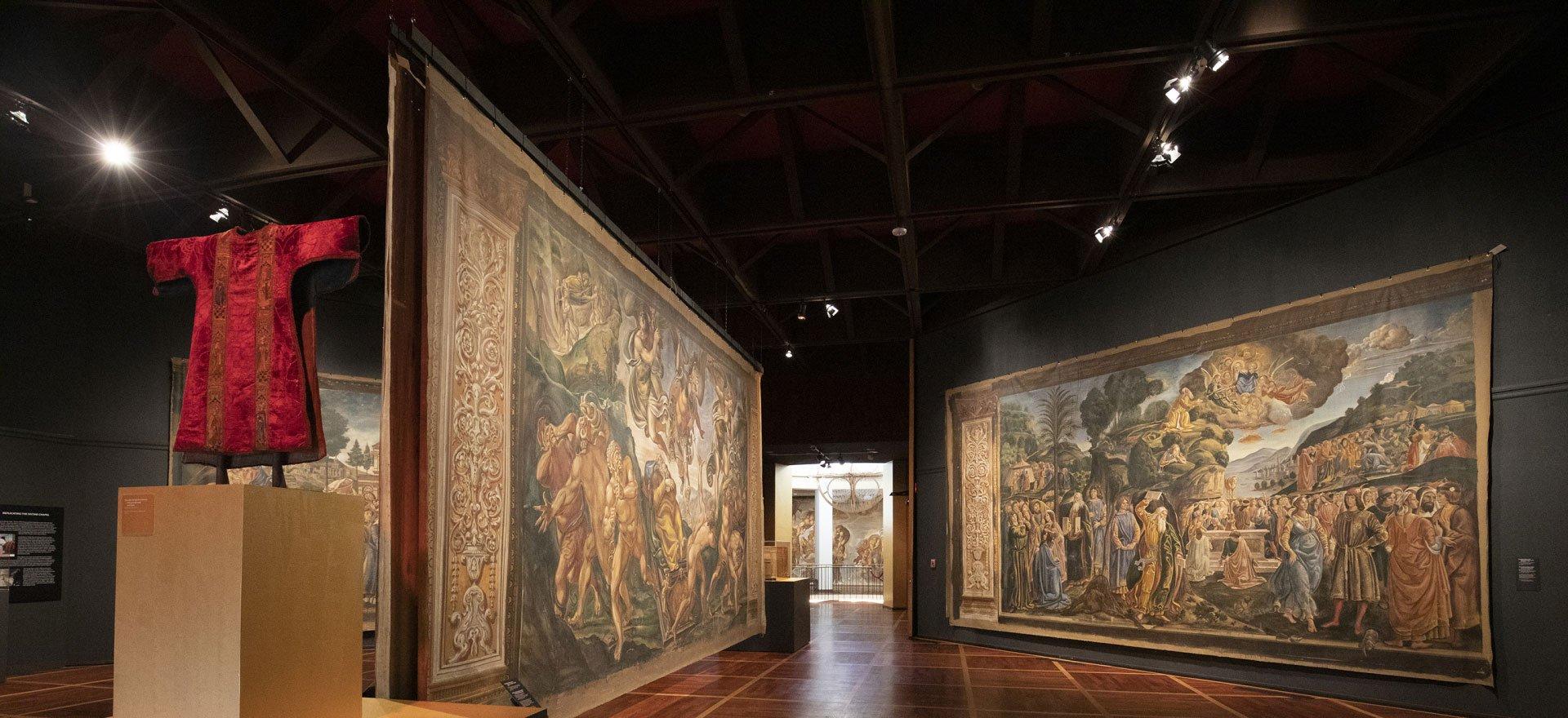 Sistine Chapel exhibition hero