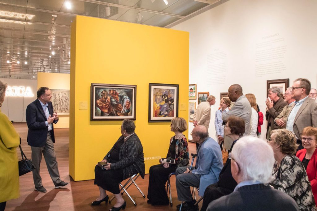 Curator tours