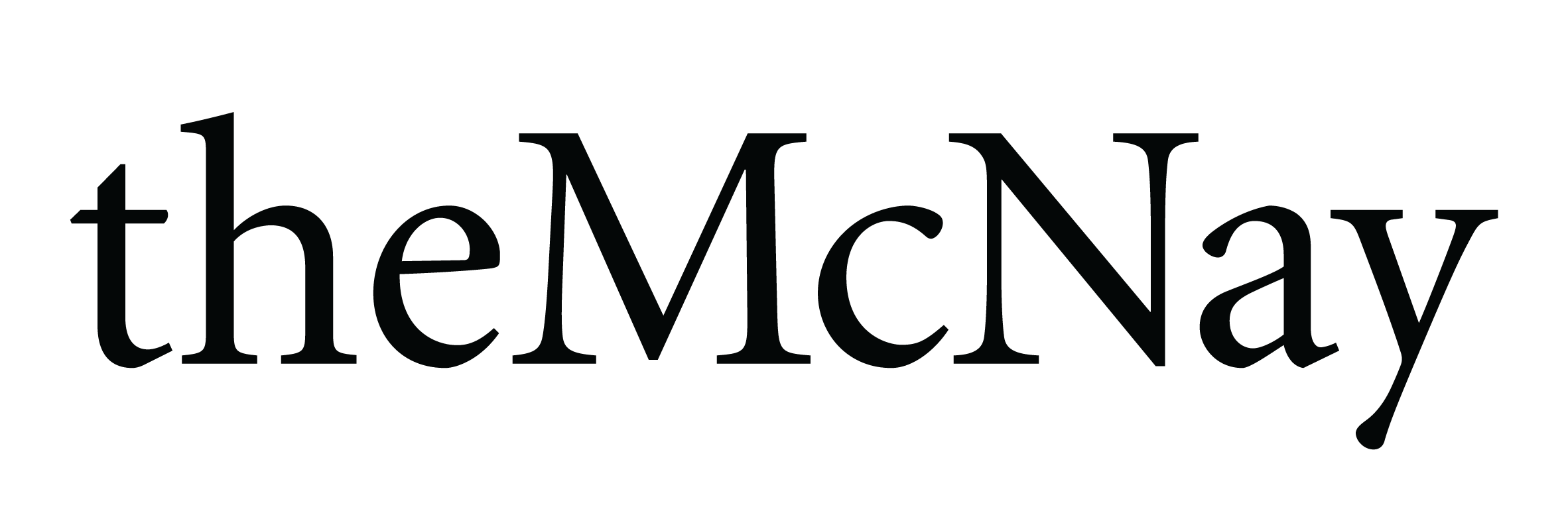 McNay logo colored black